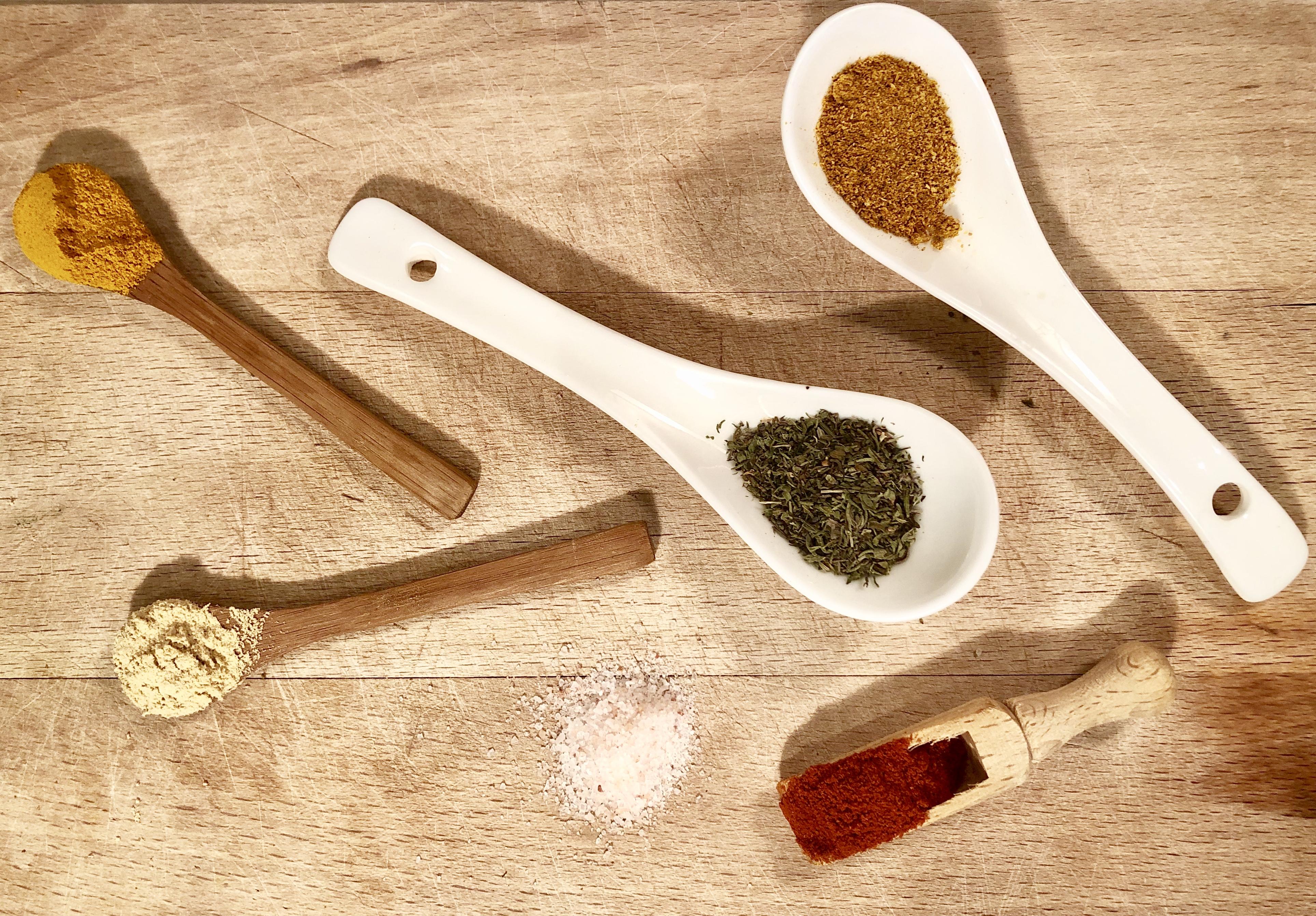 Oriental flavoured lentil